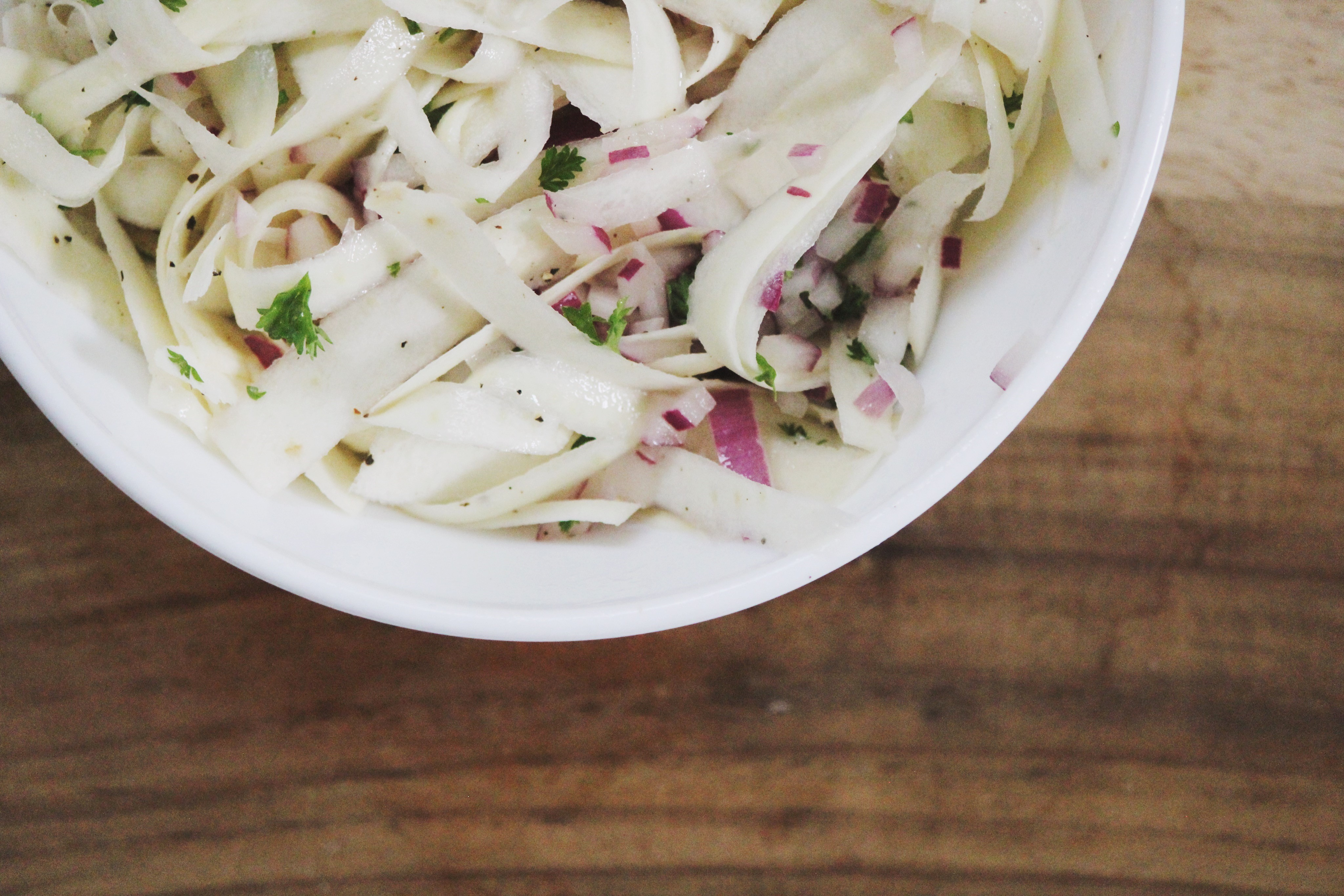 Mouth-Watering Parsnip Salad